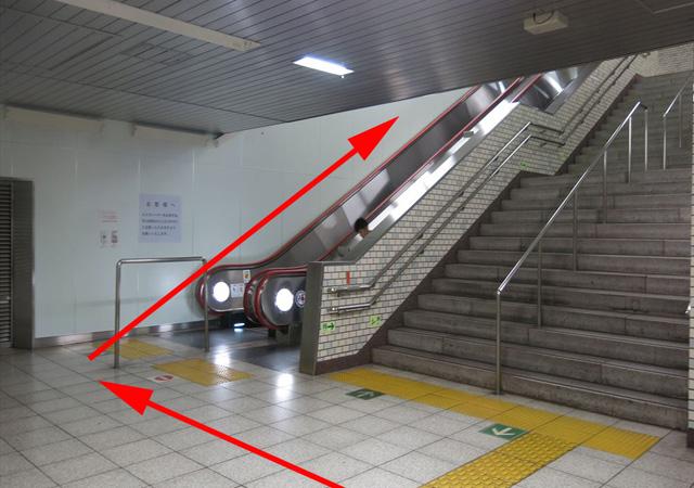 馬喰横山駅上りホームから3