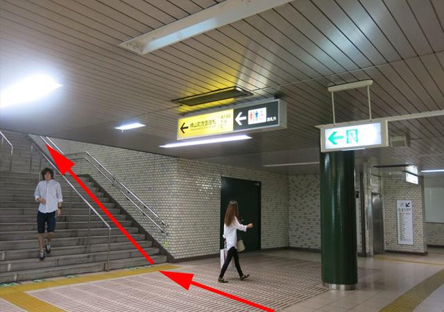 馬喰横山駅上りホームから4