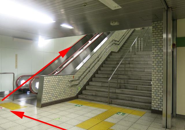 馬喰横山駅下りホームから3