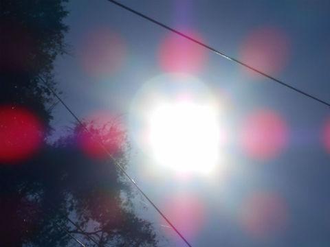 朔旦冬至の太陽