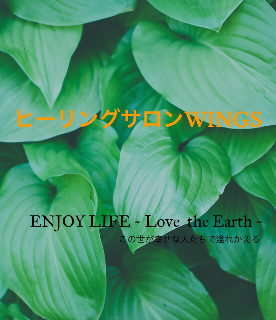 SALON WINGS / ENJOY LIFE ~ Love the Earth ~ 廣瀬友里恵